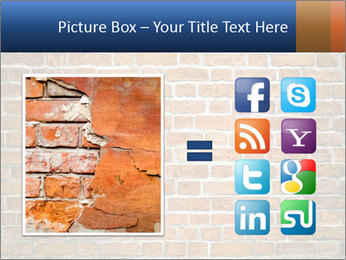 Brown Brick Wall PowerPoint Template - Slide 21
