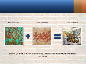 Brown Brick Wall PowerPoint Template - Slide 22