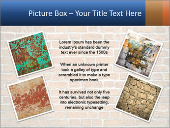 Brown Brick Wall PowerPoint Templates - Slide 24