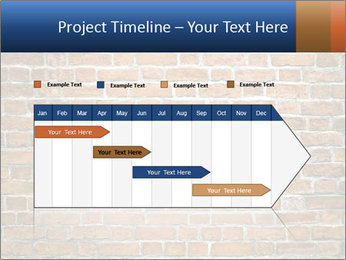 Brown Brick Wall PowerPoint Templates - Slide 25
