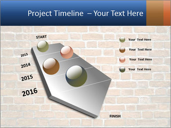 Brown Brick Wall PowerPoint Templates - Slide 26