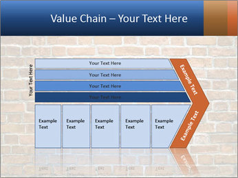 Brown Brick Wall PowerPoint Template - Slide 27