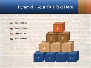 Brown Brick Wall PowerPoint Templates - Slide 31