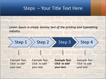 Brown Brick Wall PowerPoint Template - Slide 4