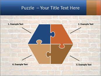 Brown Brick Wall PowerPoint Template - Slide 40