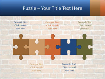 Brown Brick Wall PowerPoint Template - Slide 41