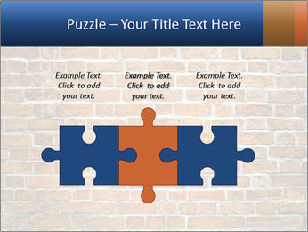 Brown Brick Wall PowerPoint Templates - Slide 42