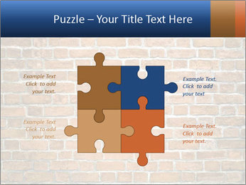 Brown Brick Wall PowerPoint Templates - Slide 43