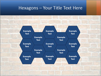 Brown Brick Wall PowerPoint Template - Slide 44
