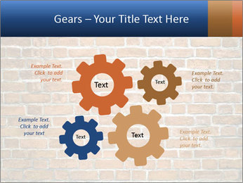 Brown Brick Wall PowerPoint Templates - Slide 47