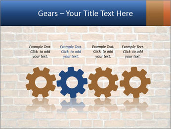 Brown Brick Wall PowerPoint Template - Slide 48