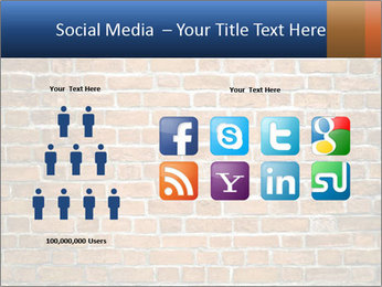 Brown Brick Wall PowerPoint Template - Slide 5