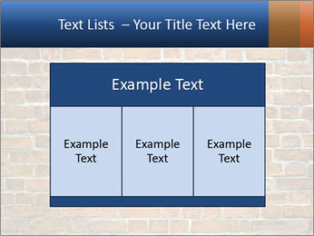 Brown Brick Wall PowerPoint Templates - Slide 59
