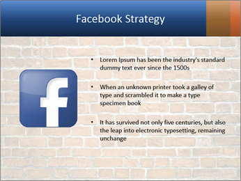 Brown Brick Wall PowerPoint Templates - Slide 6