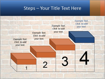 Brown Brick Wall PowerPoint Template - Slide 64