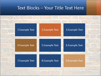 Brown Brick Wall PowerPoint Template - Slide 68