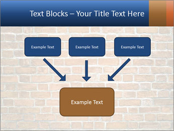 Brown Brick Wall PowerPoint Template - Slide 70