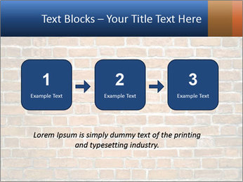 Brown Brick Wall PowerPoint Template - Slide 71