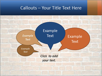 Brown Brick Wall PowerPoint Template - Slide 73