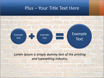 Brown Brick Wall PowerPoint Templates - Slide 75