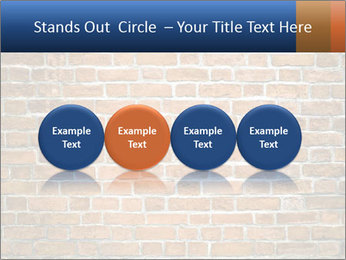 Brown Brick Wall PowerPoint Templates - Slide 76