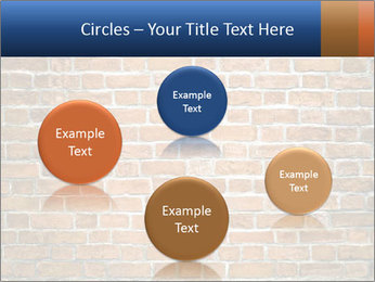 Brown Brick Wall PowerPoint Templates - Slide 77