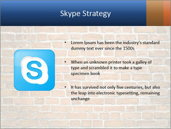 Brown Brick Wall PowerPoint Templates - Slide 8