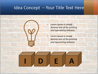 Brown Brick Wall PowerPoint Templates - Slide 80