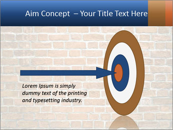 Brown Brick Wall PowerPoint Template - Slide 83