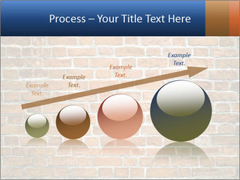 Brown Brick Wall PowerPoint Templates - Slide 87