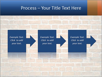 Brown Brick Wall PowerPoint Templates - Slide 88