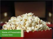 Popcorn Container PowerPoint Templates