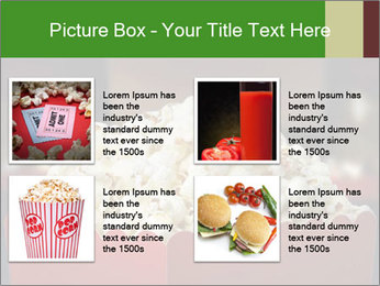 Popcorn Container PowerPoint Template - Slide 14