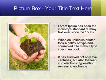 Green Plant Protection PowerPoint Template - Slide 13