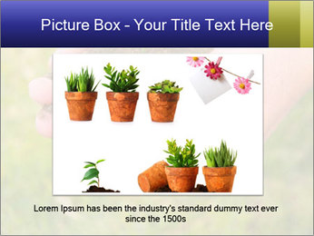 Green Plant Protection PowerPoint Template - Slide 16