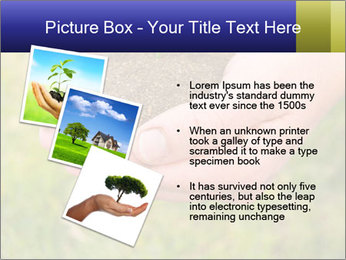 Green Plant Protection PowerPoint Template - Slide 17