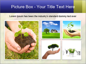 Green Plant Protection PowerPoint Template - Slide 19