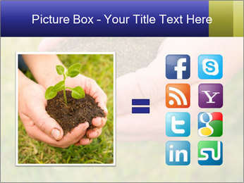 Green Plant Protection PowerPoint Template - Slide 21