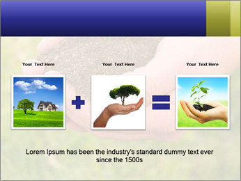 Green Plant Protection PowerPoint Template - Slide 22
