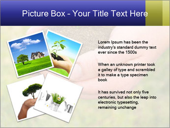 Green Plant Protection PowerPoint Template - Slide 23