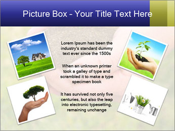 Green Plant Protection PowerPoint Template - Slide 24