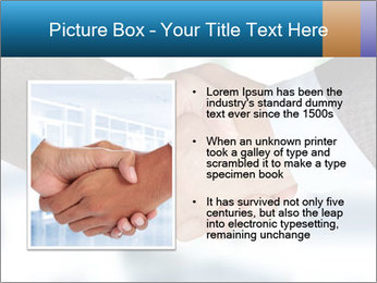 Businessmen Shake Hands PowerPoint Template - Slide 13