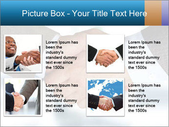Businessmen Shake Hands PowerPoint Template - Slide 14