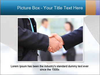 Businessmen Shake Hands PowerPoint Template - Slide 16