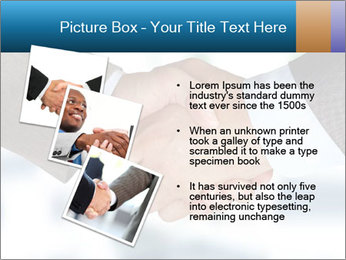 Businessmen Shake Hands PowerPoint Template - Slide 17