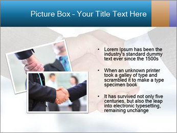 Businessmen Shake Hands PowerPoint Template - Slide 20