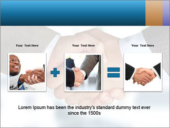 Businessmen Shake Hands PowerPoint Template - Slide 22