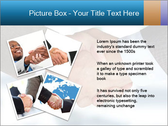 Businessmen Shake Hands PowerPoint Template - Slide 23