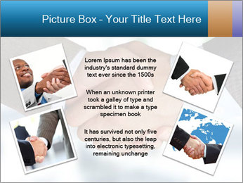 Businessmen Shake Hands PowerPoint Template - Slide 24
