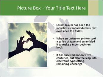 Heart In Sky PowerPoint Template - Slide 13